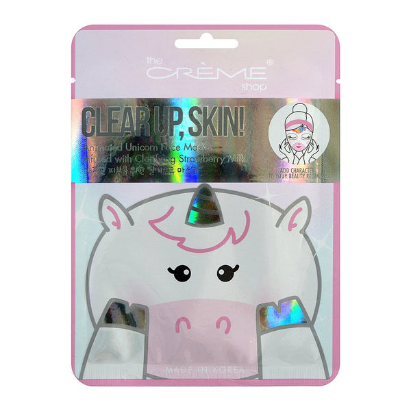 google.ca - Clear Up, Skin! Unicorn Face Mask - Infused with Clarifying Strawberry Milk