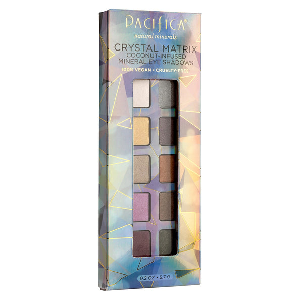 pacificabeauty.com - Crystal Matrix Mineral Infused Eyeshadows