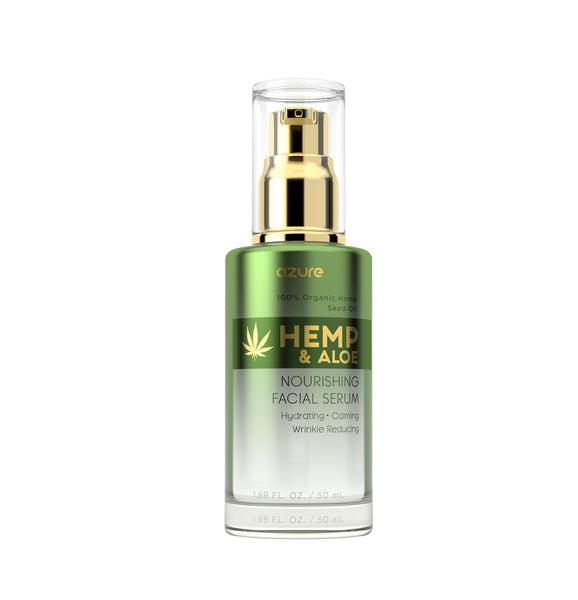 azureskincare.com - Hemp and Aloe Nourishing Facial Serum
