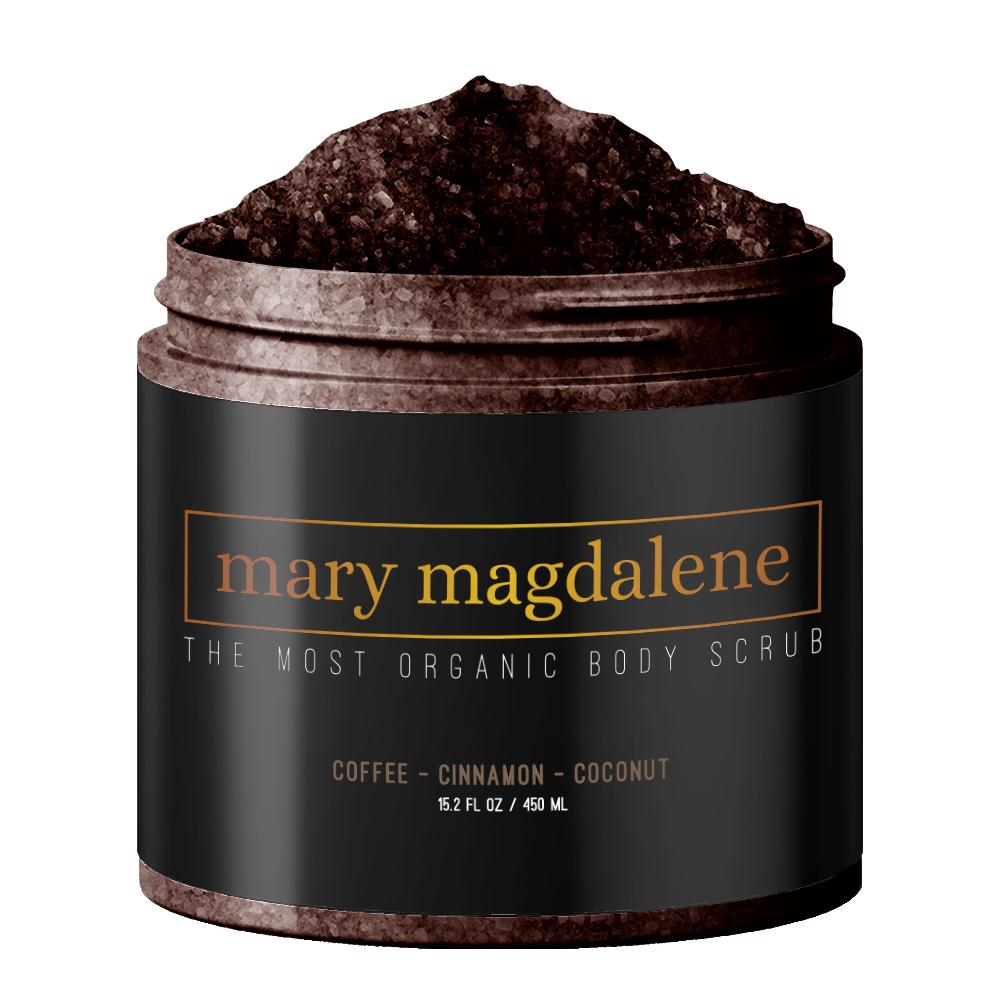 Mary Magdalene - Coconut Oil and Coffee Body Scrub — Mary Magdalene