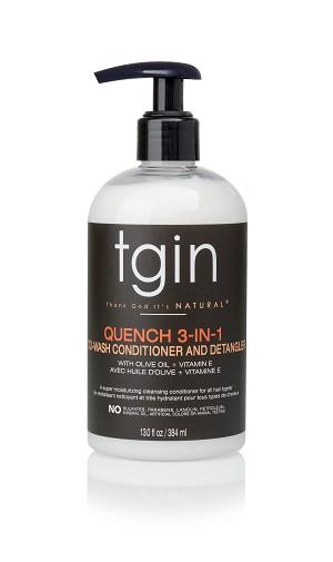 3dcartstores - Quench 3-in-1 Co-Wash Conditioner and Detangler - 13oz