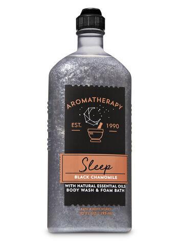 Bath & Body Works - Aromatherapy Black Chamomile Body Wash & Foam Bath