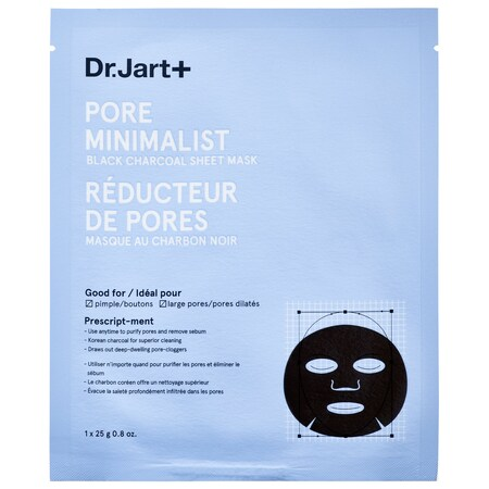 Dr.Jart+ - Pore Minimalist Black Charcoal Sheet Mask