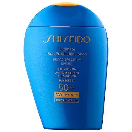 Shiseido - Ultimate Sun Protection Lotion WetForce SPF 50+