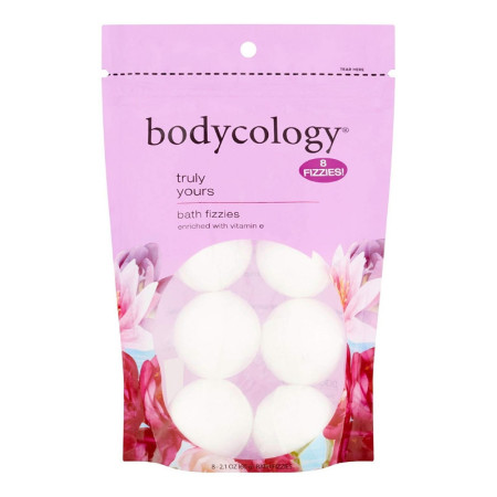 Bodycology - Bodycology Truly Yours Bath Soak Fizzies Bombs, 8 ea (1 Pack)