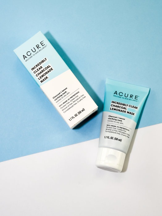 Acure - INCREDIBLY CLEAR CHARCOAL LEMONADE FACE MASK