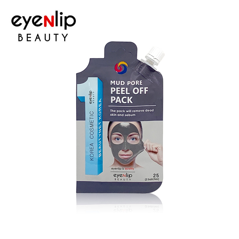 m.beautynetkorea.com - [EYENLIP] Mud Pore Peel Off Pack 25g (Weight : 32g)