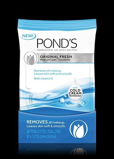ponds.com - Original Fresh MoistureClean™ Towelettes