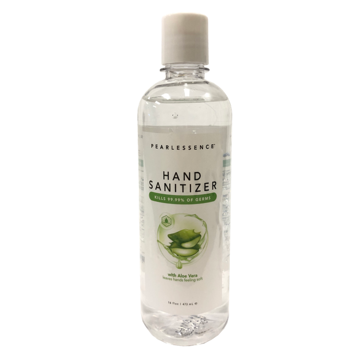 theisens - Pearlessence Hand Sanitizer Gel with Aloe Vera 16 oz.