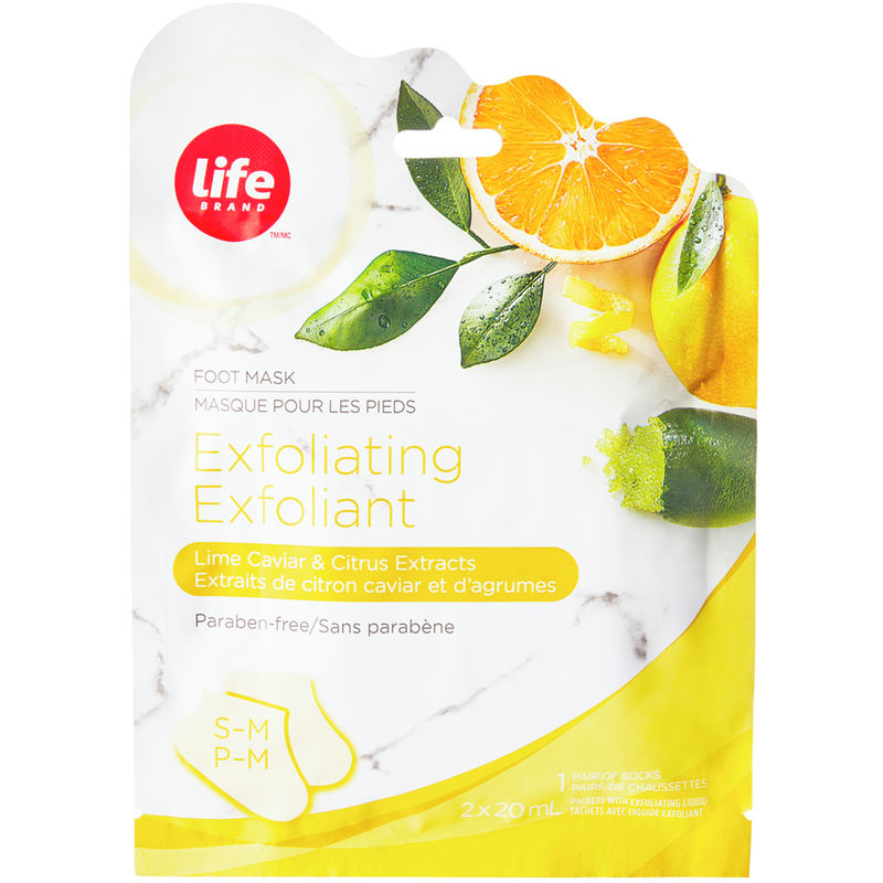 A B C D E F G H I J K L M N O P Q R S T U V Y New & Popular A B C D E F G H I J K L M N O P Q R S T U V W Y Z # New & Popular - Shop for Exfoliating Foot Mask Lime Caviar & Citrus Extracts by Life Brand | Shoppers Drug Mart