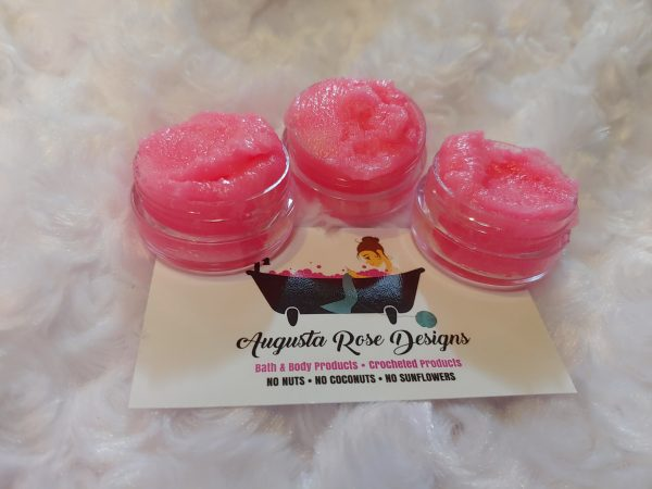 Augusta Rose Designs - Strawberriew and Cream Lip Scrub