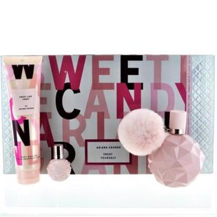 Sears - Sweet Like Candy SWEET LIKE CANDY by Ariana Grande 3 PIECE GIFT SET - 3.4 OZ EAU DE PARFUM SPRAY