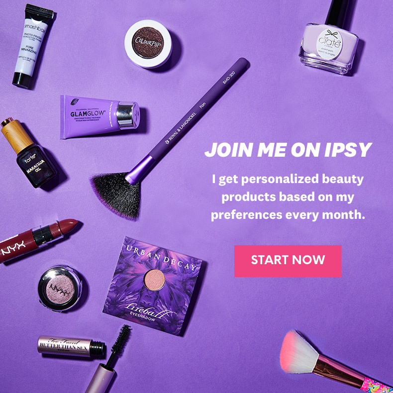 ipsy.com - 5 Beauty Products. $10/Month. Free Shipping.