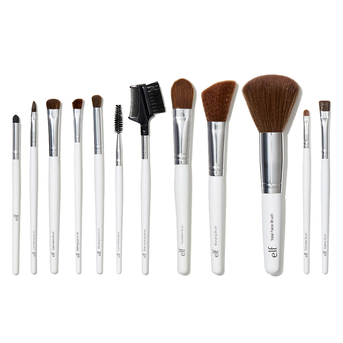 E.l.f Cosmetics - Professional Set of 12 Brushes