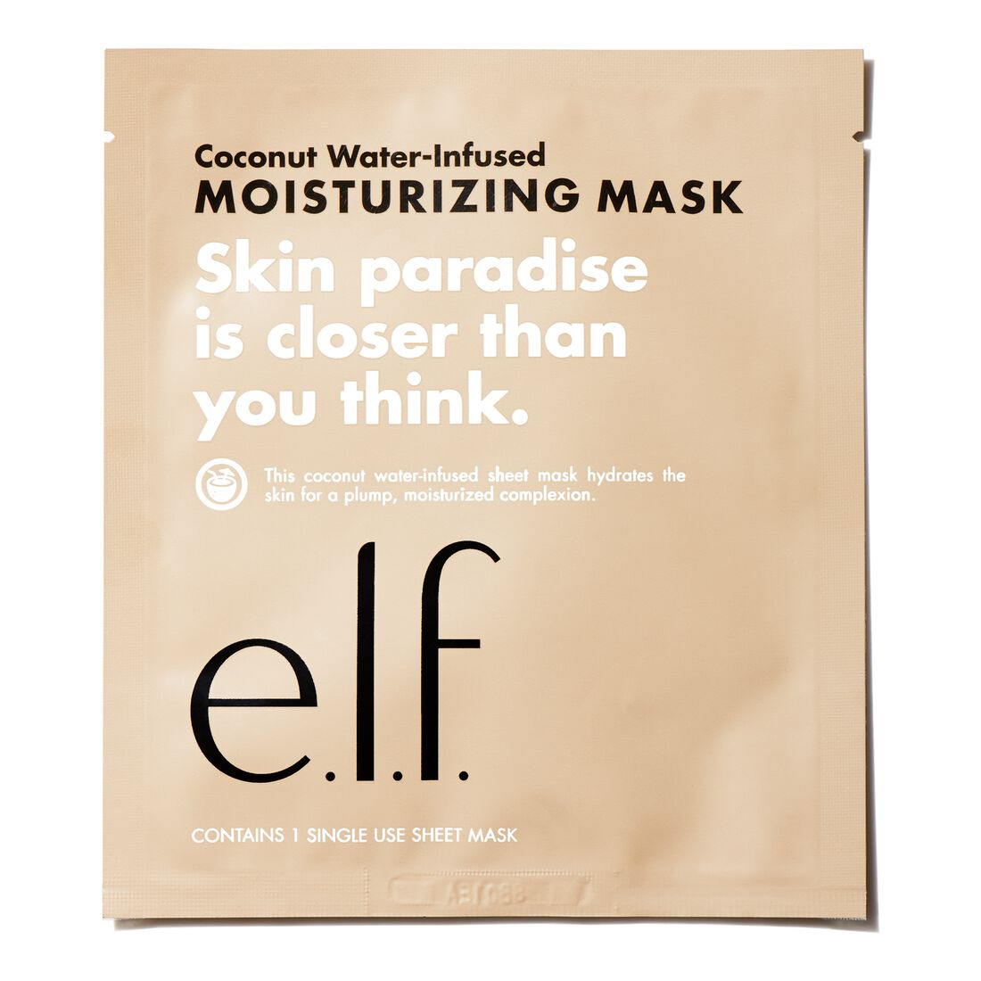 E.l.f Cosmetics - Coconut Water-Infused Moisturizing Sheet Mask
