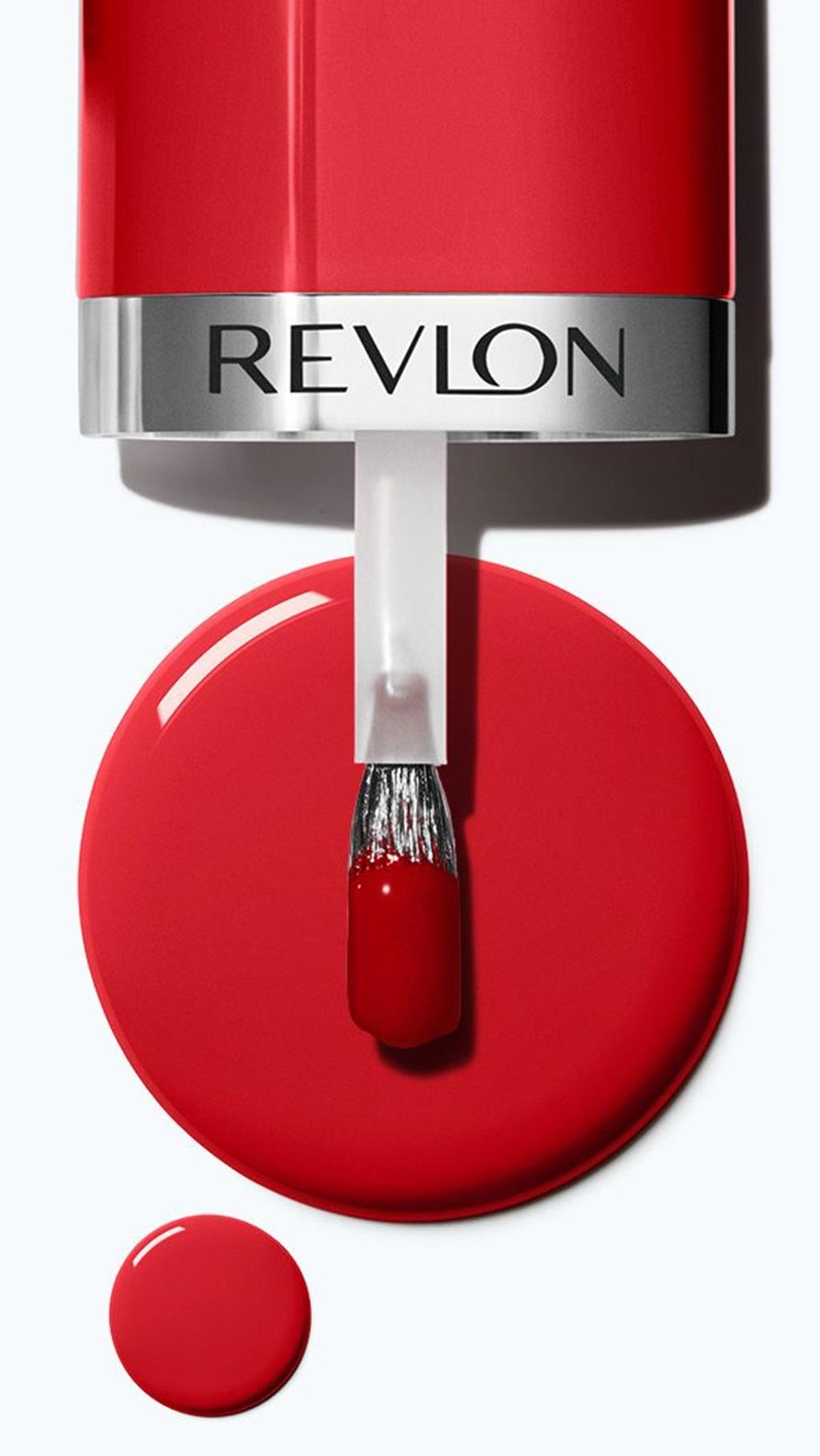 Revlon - One-coat. Vegan. 20-Free*. Snap and it's dry!