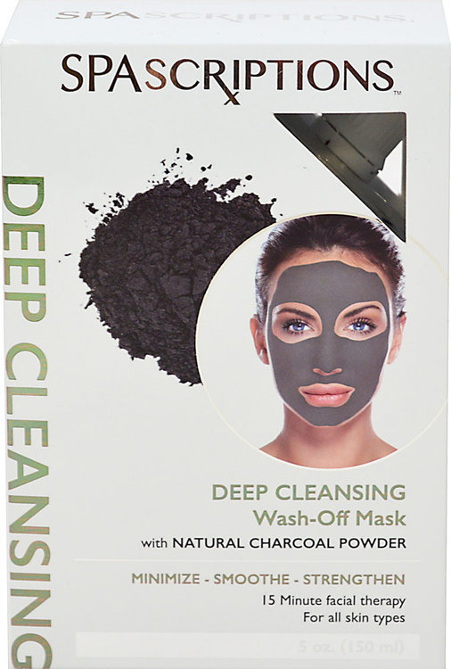 Spascriptions - Deep Cleansing Charcoal Wash-Off Mask