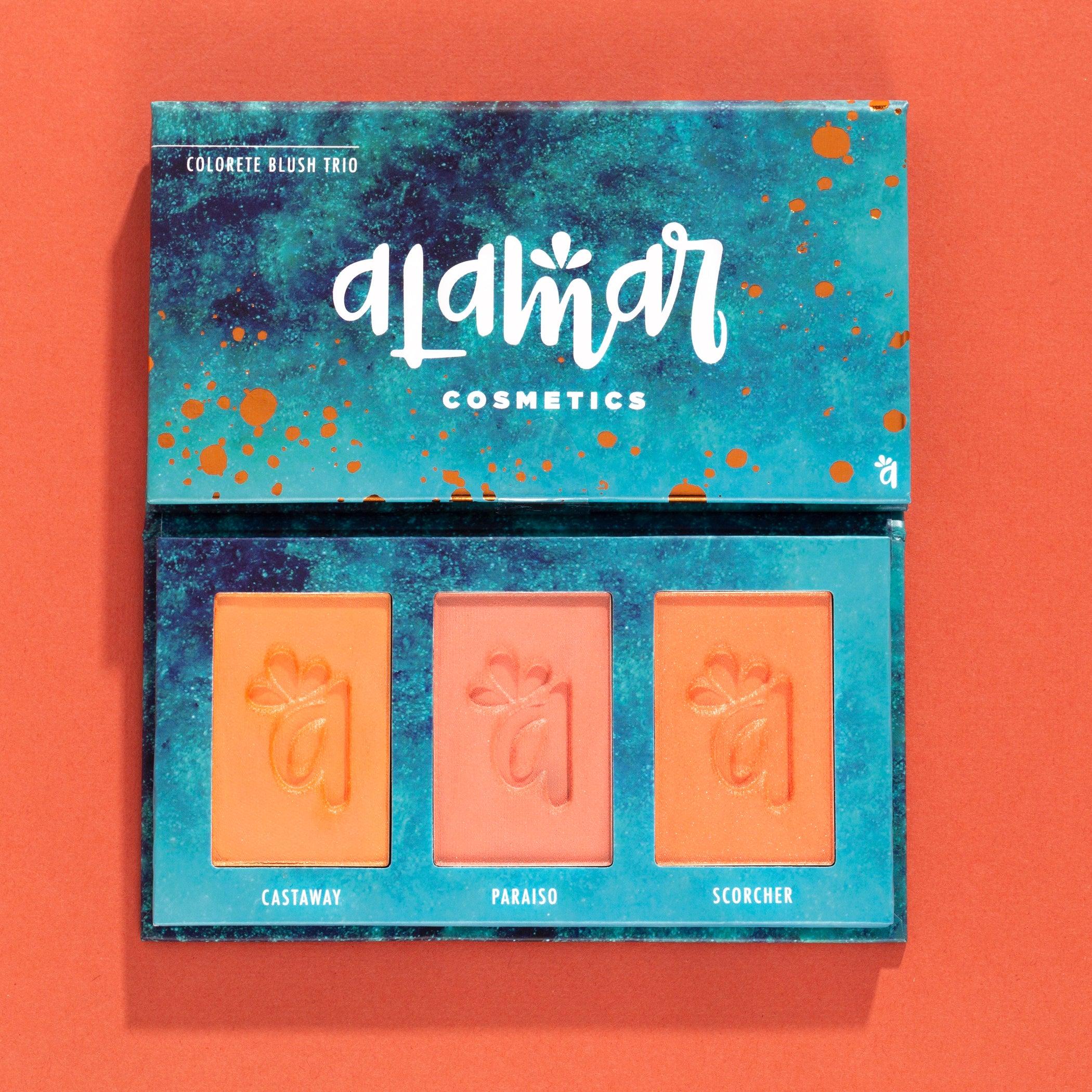 Alamar Cosmetics - Colorete Blush Trio, Fair/Light