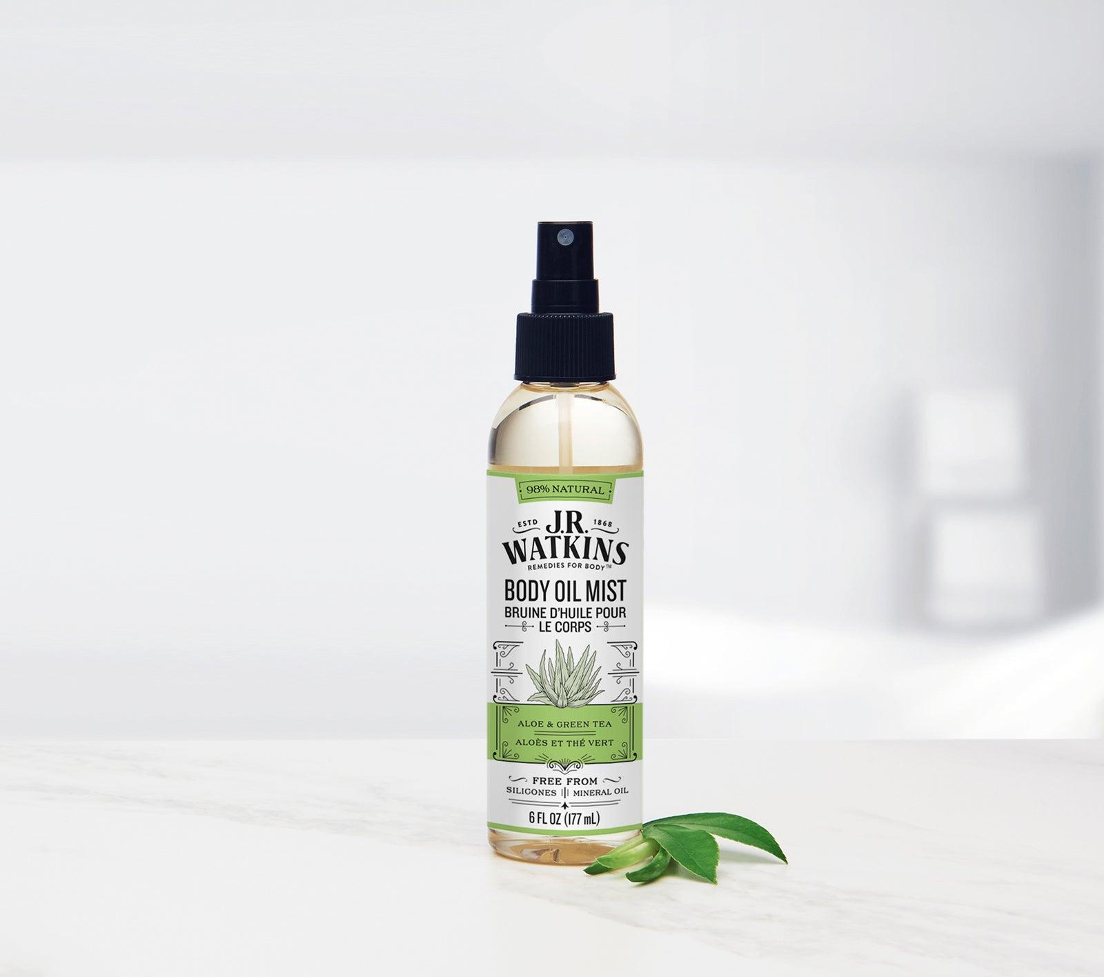 jrwatkins.com - Aloe & Green Tea Body Oil Mist