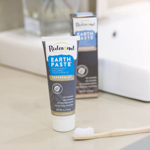 Earthpaste - Peppermint with Charcoal Toothpaste