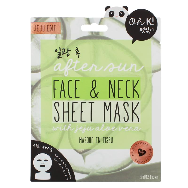 Oh K! US - Oh K! After Sun Face & Neck Sheet Mask