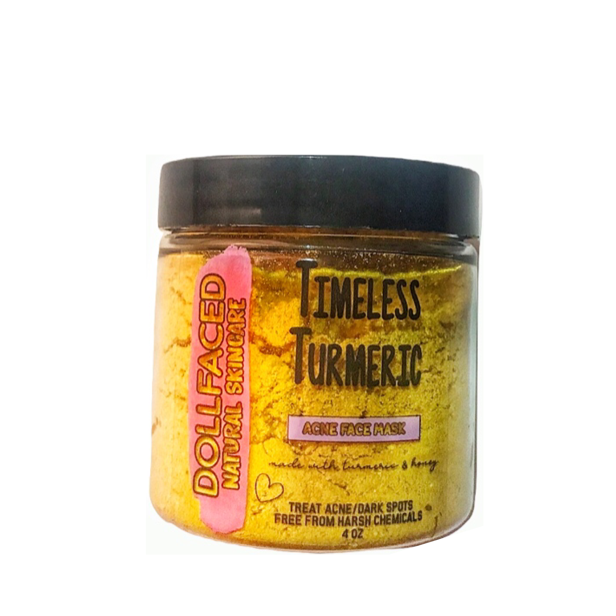 Dollfaced Natural Skincare - Timeless Turmeric Mask