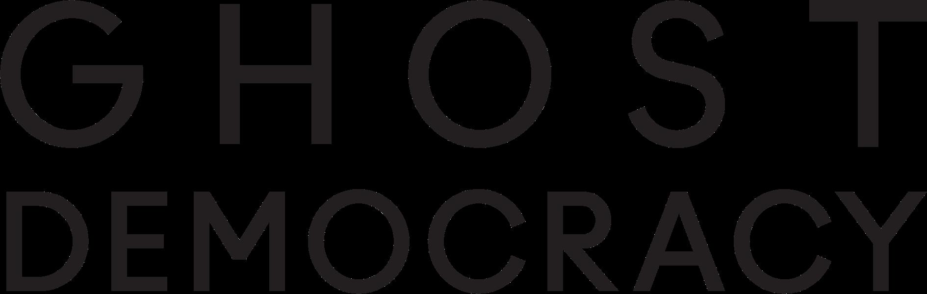 Ghost Democracy's logo