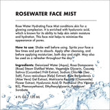 Provence Beauty LLC - HYDRATING FACIAL MIST - ROSE WATER + HYALURONIC ACID (4 OZ)