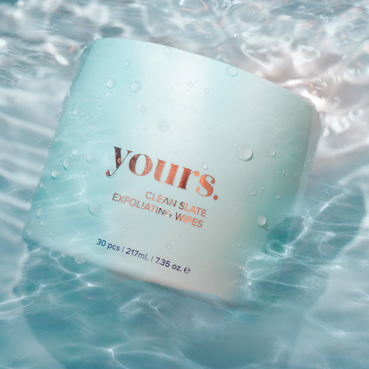 Yours - Clean Slate Exfoliating Pads
