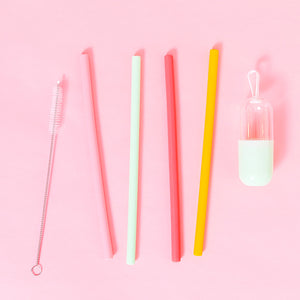 chicandtonic - Silicone Straws