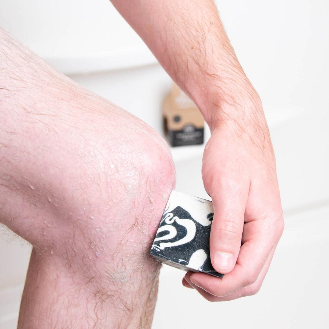 Pacha Soap Co. Clarifying Charcoal Exfoliating Block