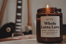 Shy Wolf Candles Whole Lotta Love