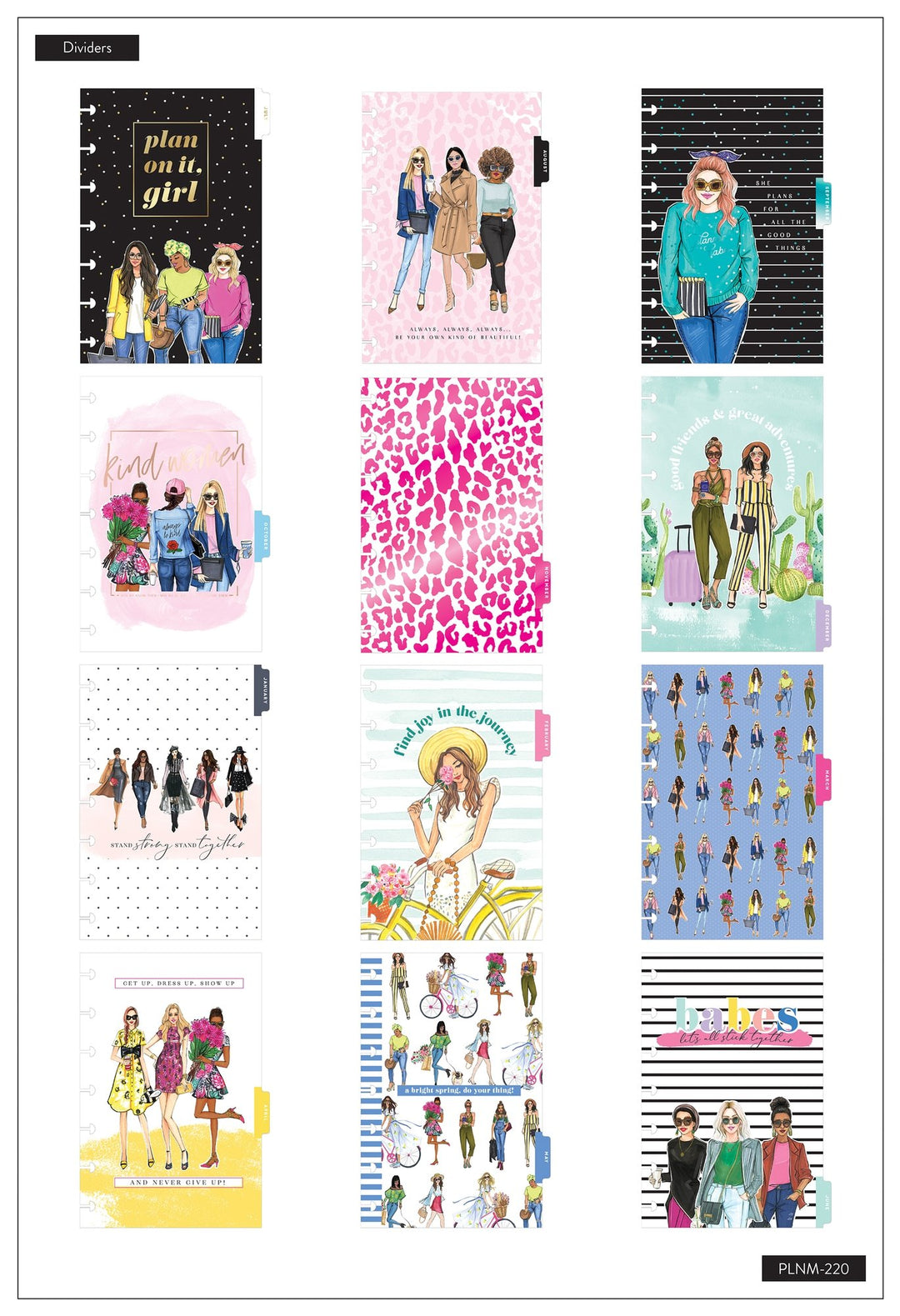 me & my BIG ideas - Mini Vertical Happy Planner® - Rongrong Kind Women - 12 Months