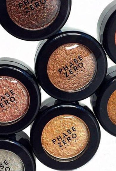 Phase Zero Makeup - Satin Pressed Powder Eyeshadows