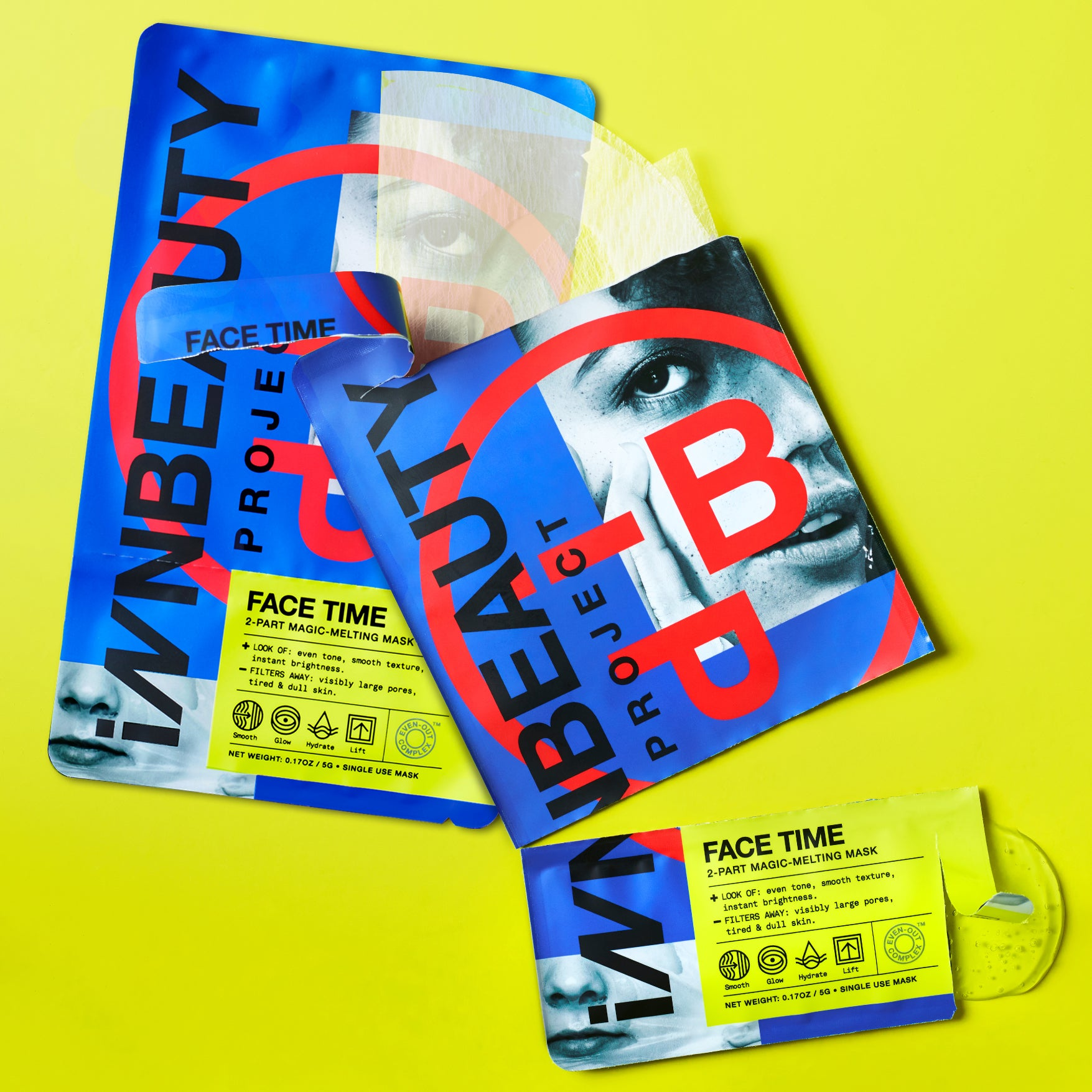 iNNBeauty Project - Face Time Sheet Mask