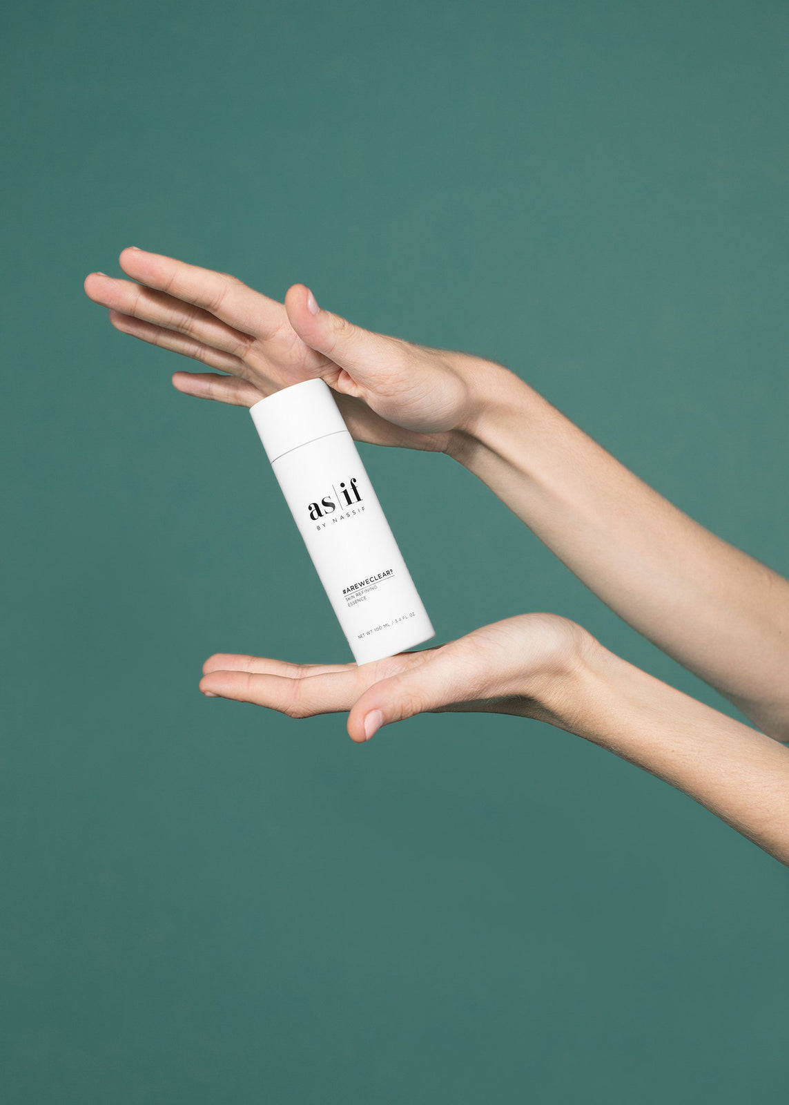 as|if by Nassif - #AREWECLEAR? SKIN REFINING ESSENCE