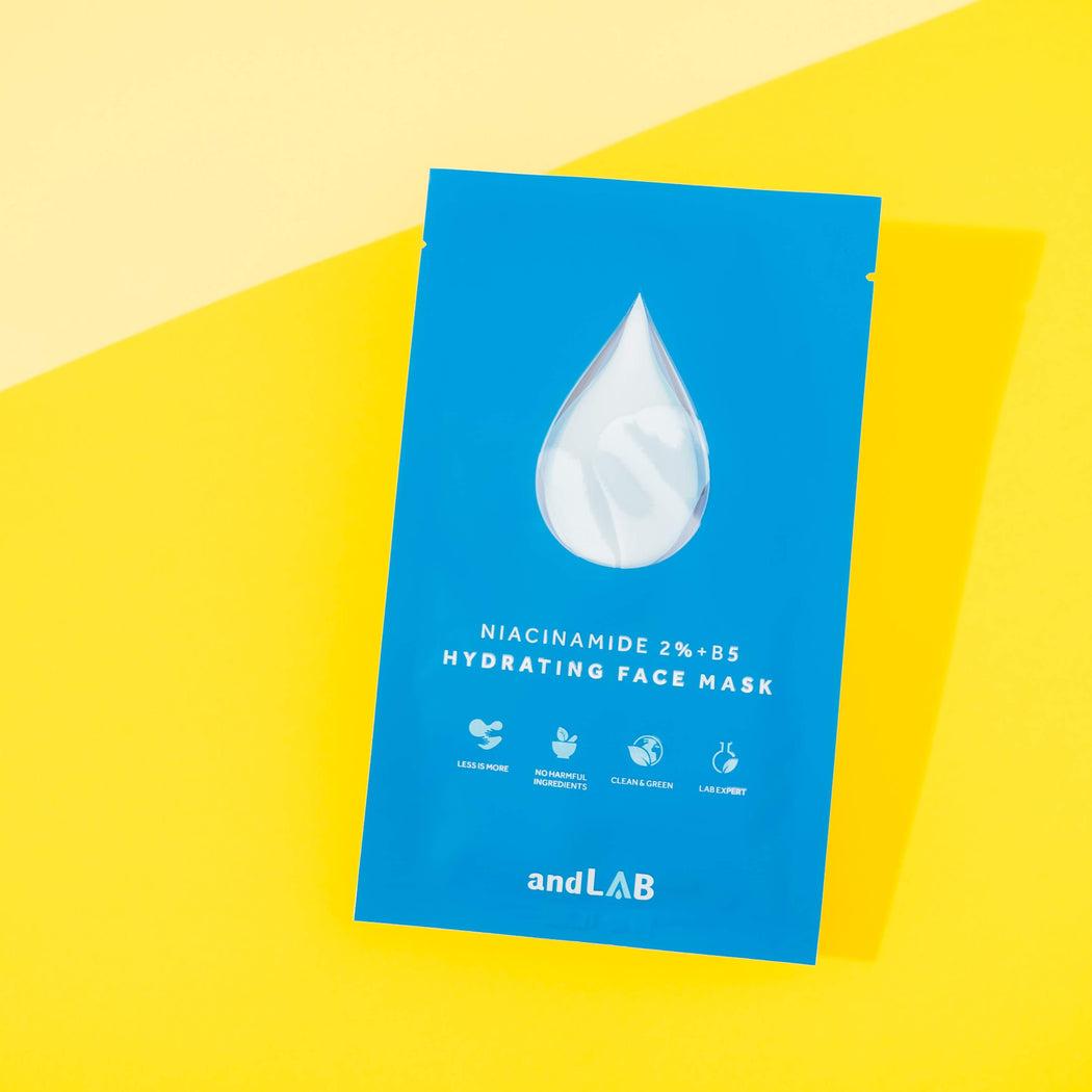 www.andlabbeauty.us.com - 1 pc | andLAB Niacinamide 2% + B5 Hydrating Face Mask
