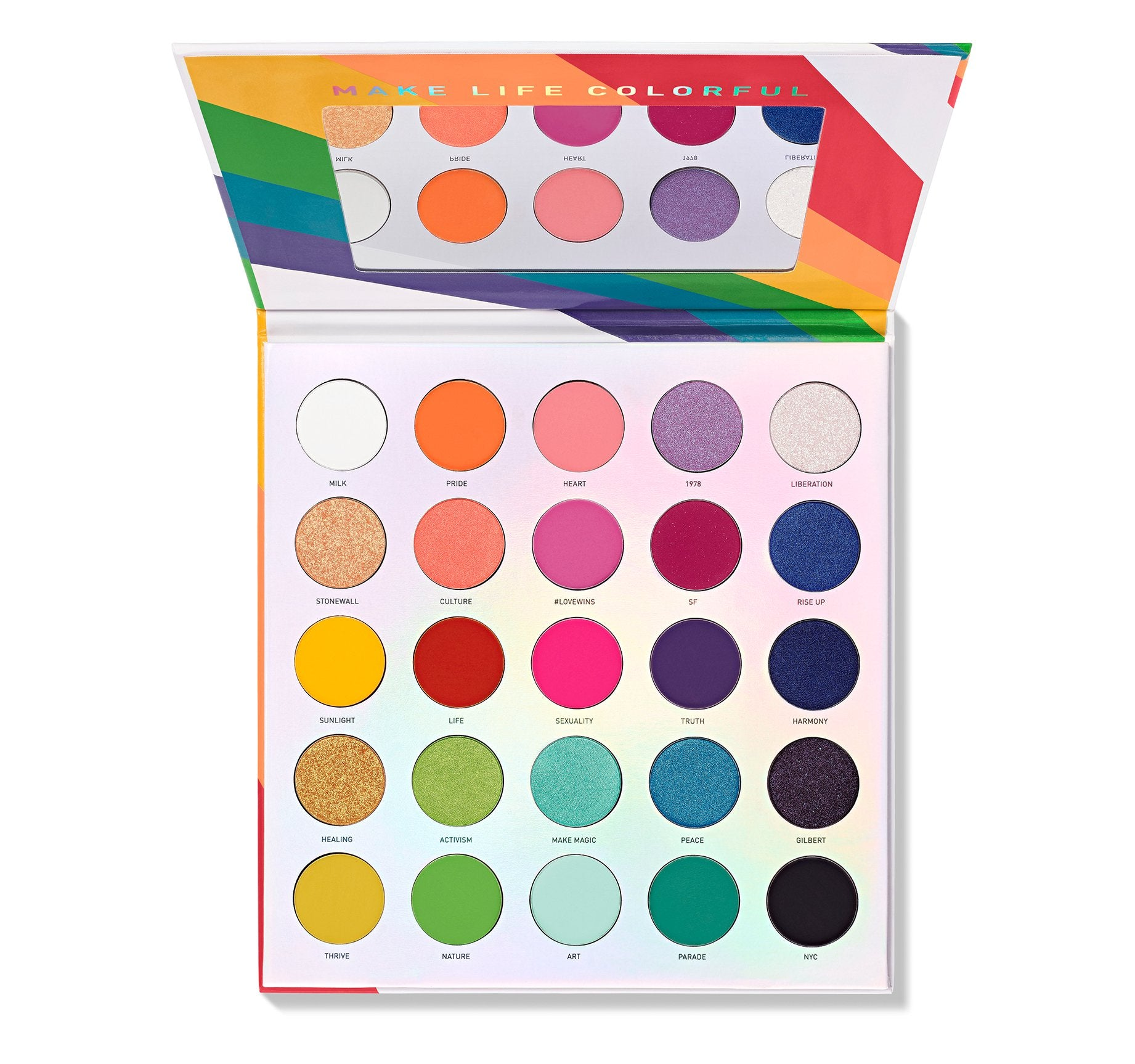 Morphe - 25L Live in Color Artistry Palette