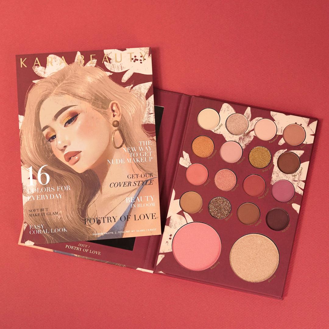 Kara Beauty ES100 POETRY OF LOVE Shadow Palette