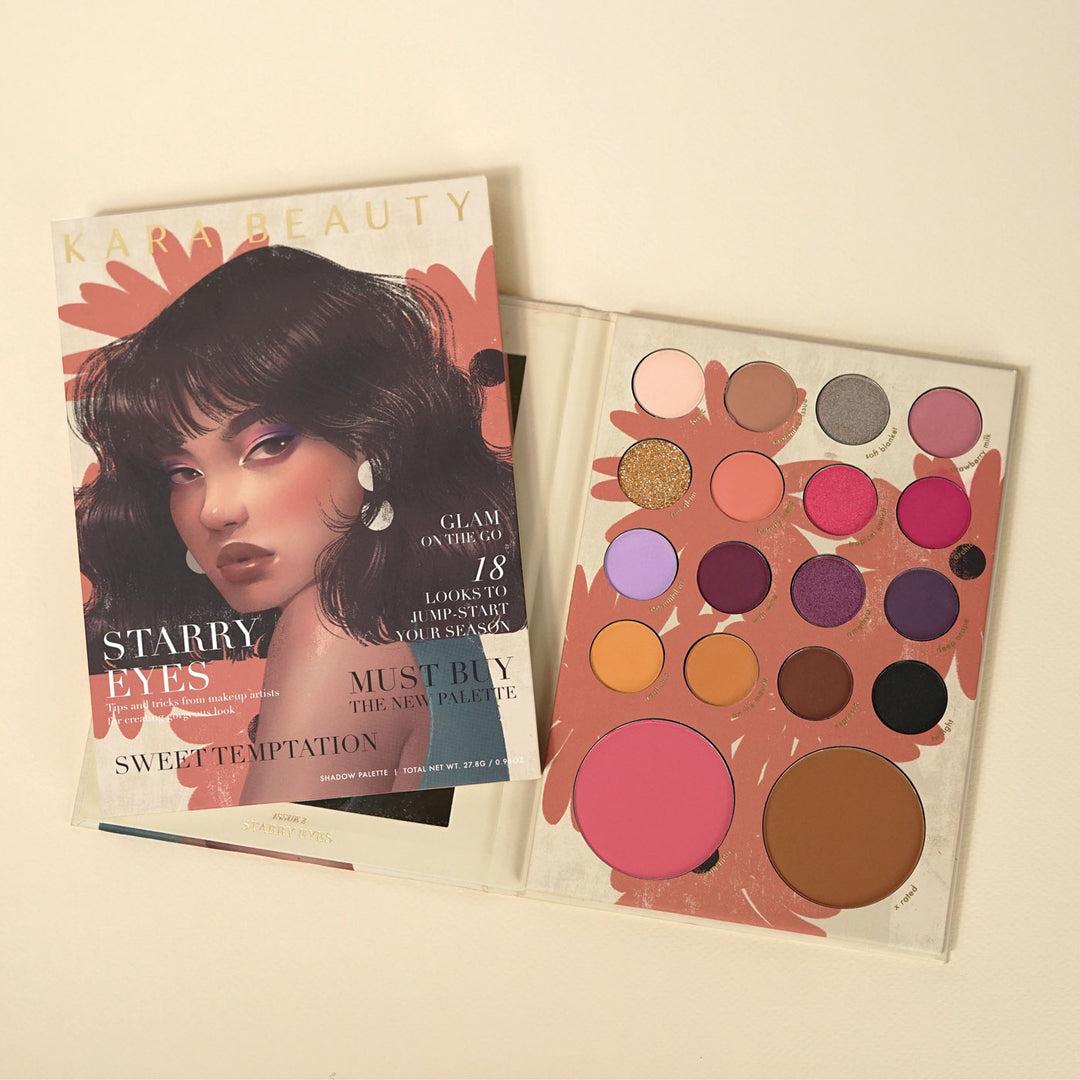 Kara Beauty ES101 STARRY EYES Shadow Palette
