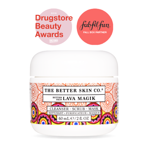 The Better Skin Co. - Lava Magik, Cleanser, Scrub and Mask