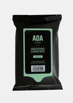 AOA Studio - AOA Makeup Remover Wipes - Green Tea