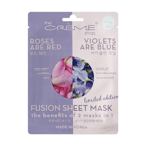 thecremeshop - Rose Water & Violet Oil Fusion Mask