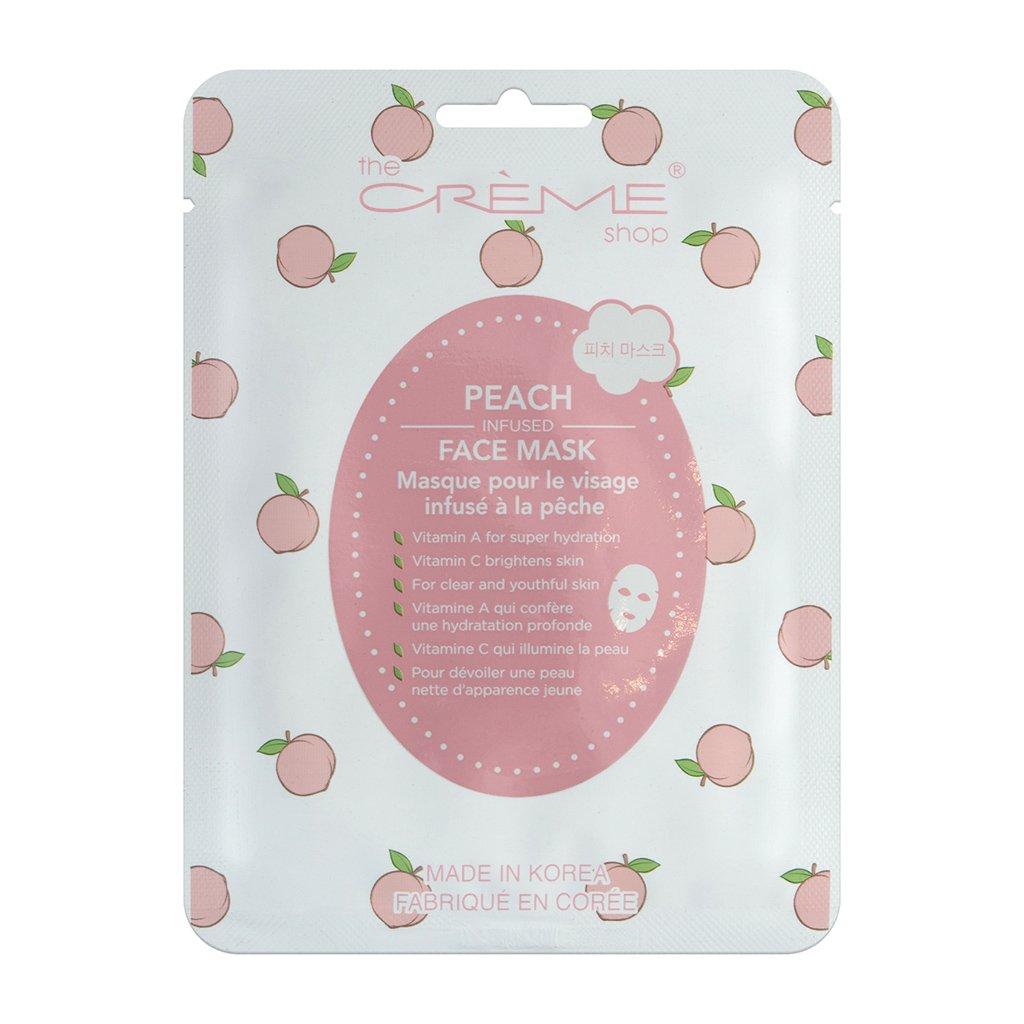 The Creme Shop - Peaches & Cream Fusion Sheet Mask