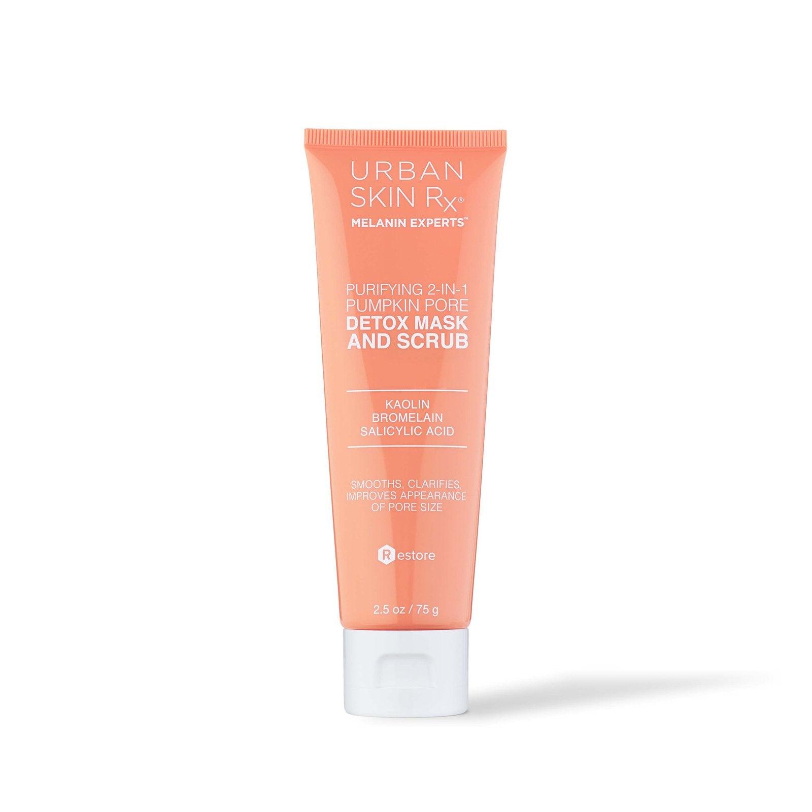 Urban Skin Rx - Purifying 2-in-1 Pumpkin Pore Detox Mask & Scrub