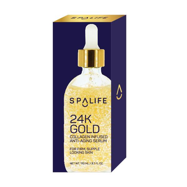 myspalife - NEW! 24K Gold Collagen Infused Anti-Aging Serum