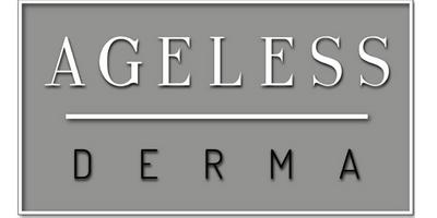 Ageless Derma's logo