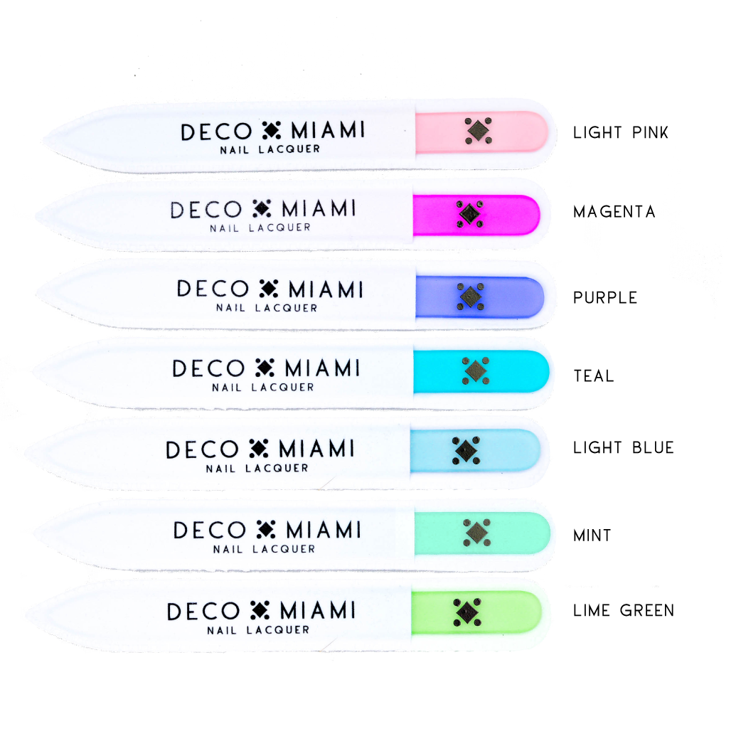Deco Miami - Crystal Nail File