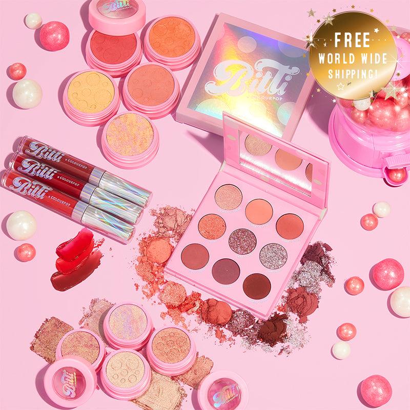 Select Brand - Bitti x ColourPop Makeup Collaboration