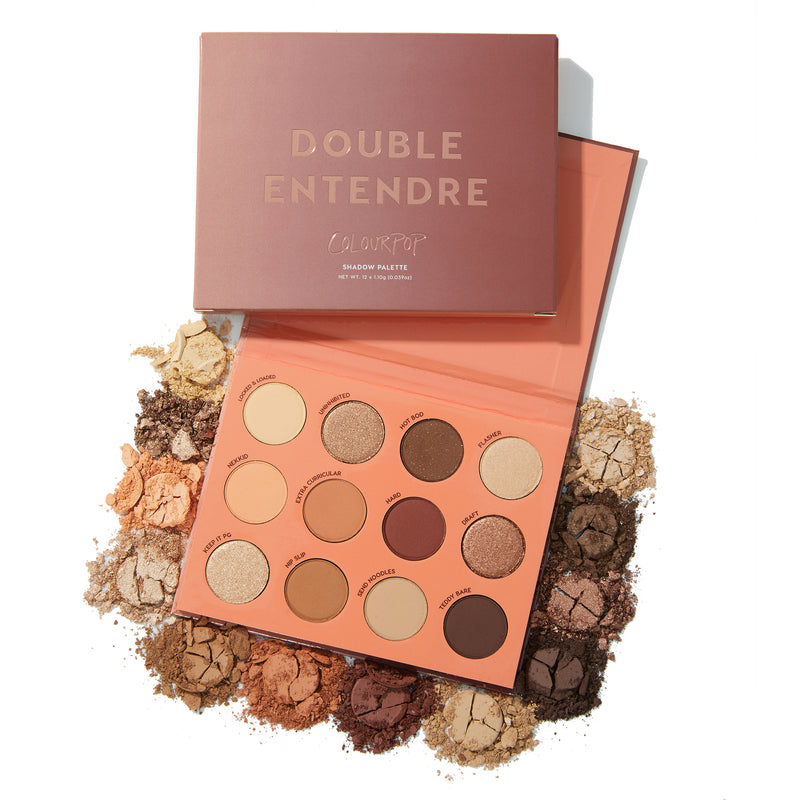 Select Brand - Double Entendre Warm Neutral Eyeshadow Palette | ColourPop